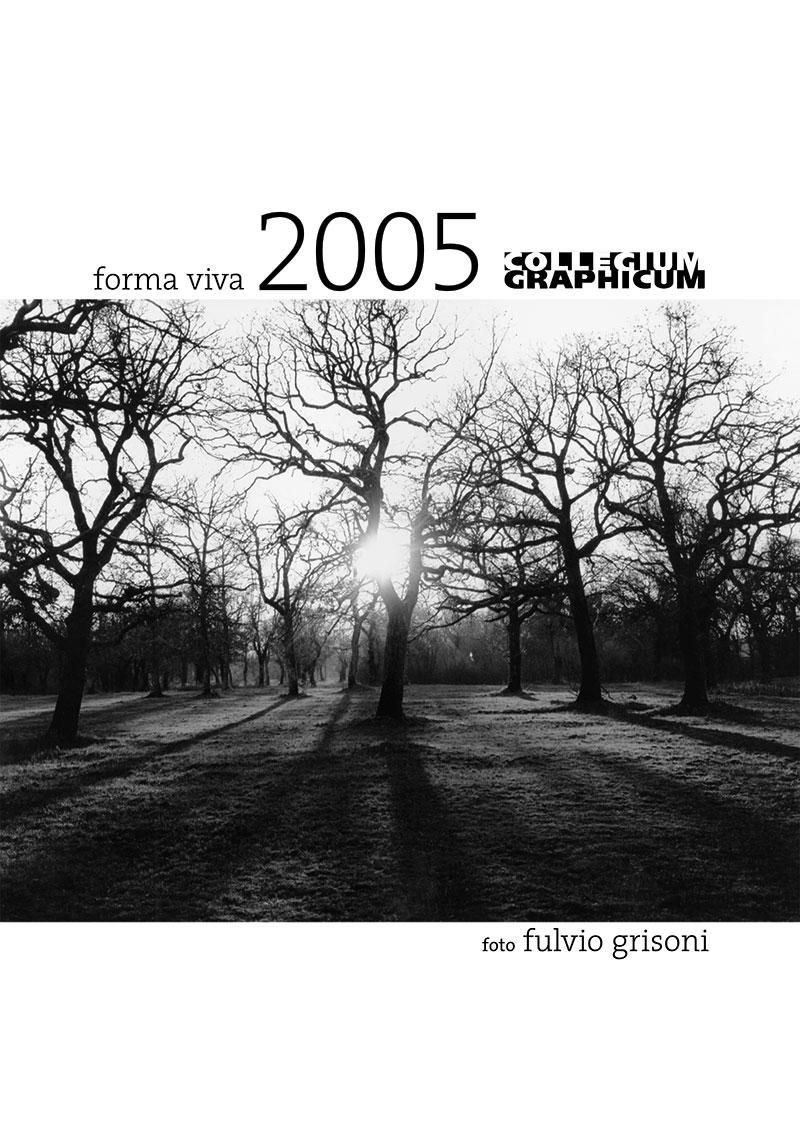 Koledar Collegium Graphicum 2005 - naslovnica