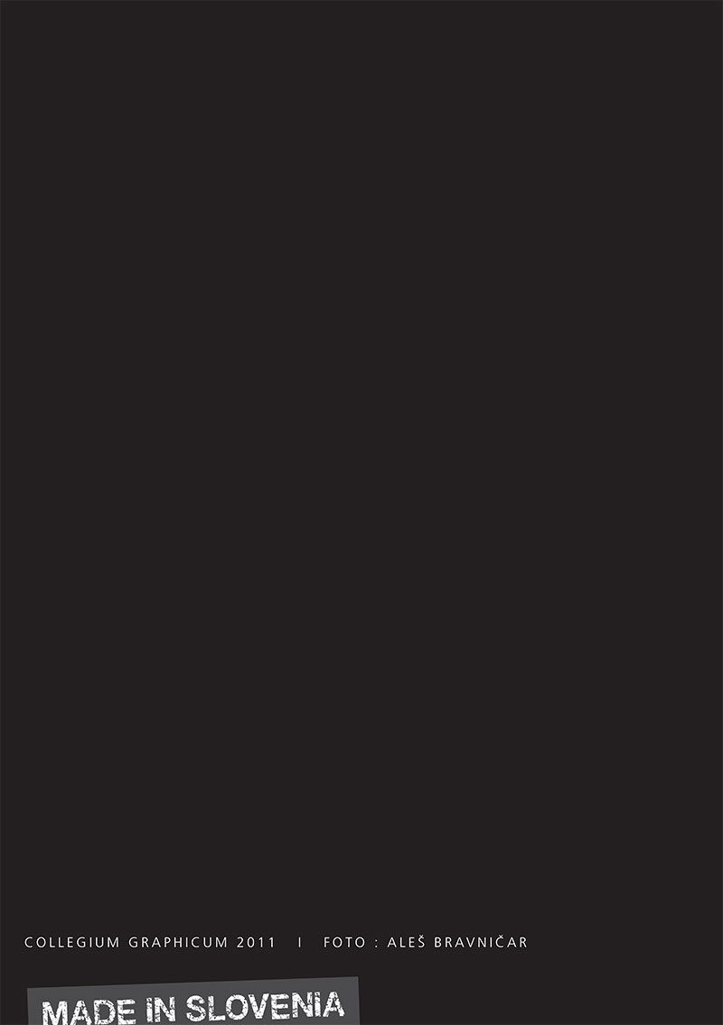 Koledar Collegium Graphicum 2011 - naslovnica